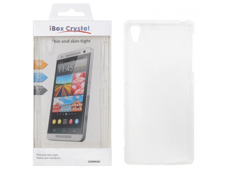 Чехол силикон iBox Crystal для HTC Desire 516/316 (прозрачный) чехол силикон ibox crystal для lenovo s60 прозрачный