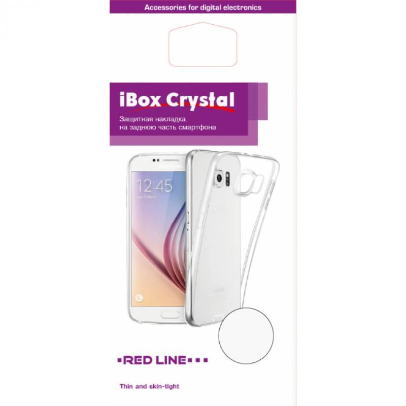 Чехол силикон iBox Crystal для Samsung Galaxy A8 (прозрачный) чехол книжка ibox premium для alcatel one touch pop d5 черный