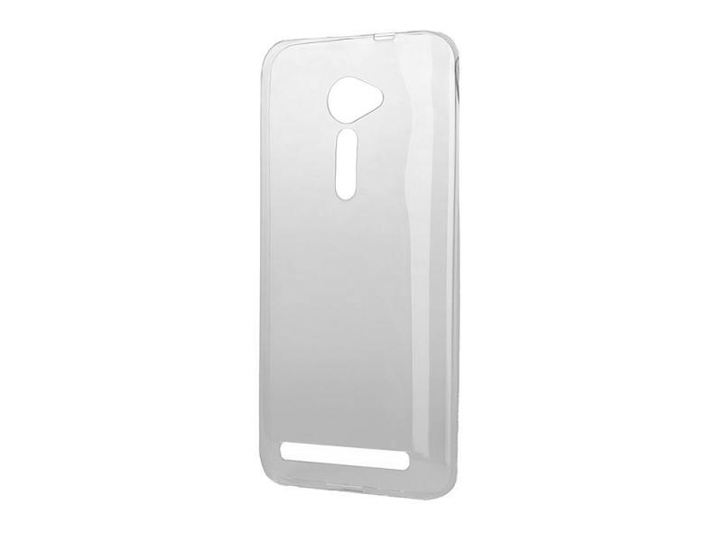 Чехол силикон iBox Crystal для Asus Zenfone 2 ZE500CL серый red line ibox crystal чехол для asus zenfone 2 lazer ze500kl clear