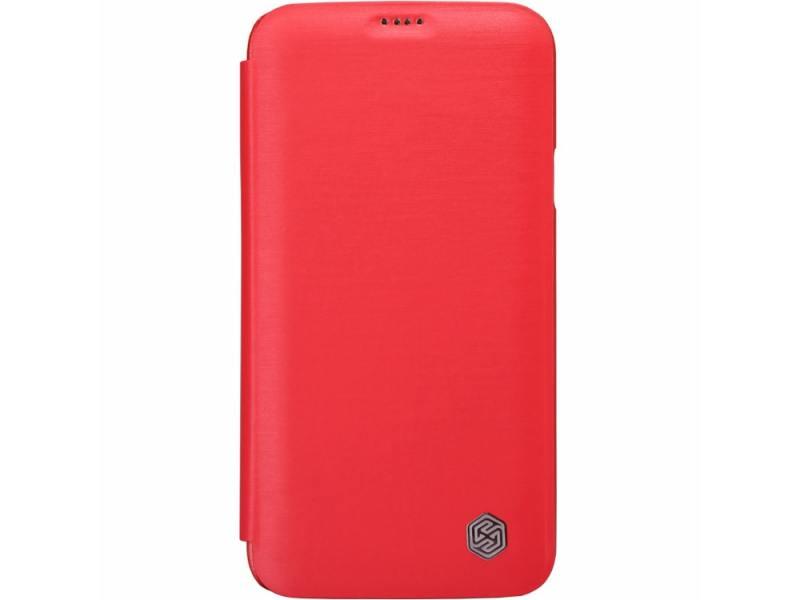 Чехол Nillkin Rain Series Leather Case для Samsung Galaxy S5 G900 красный T-N-SG900-010