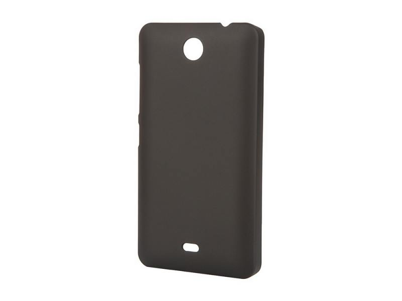 Чехол-накладка для Microsoft Lumia 430 Dual Pulsar CLIPCASE PC Soft-Touch Black клип-кейс, пластик for nokia lumia 620 n620 touch screen digitizer touch panel with frame sets original new black free shipping