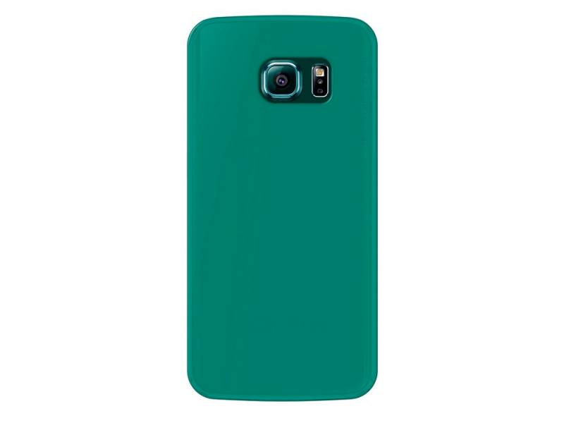 Чехол-накладка Deppa Sky Case для Samsung Galaxy S6 edge Deppa Sky Case 86044 Green клип-кейс, поликарбонат
