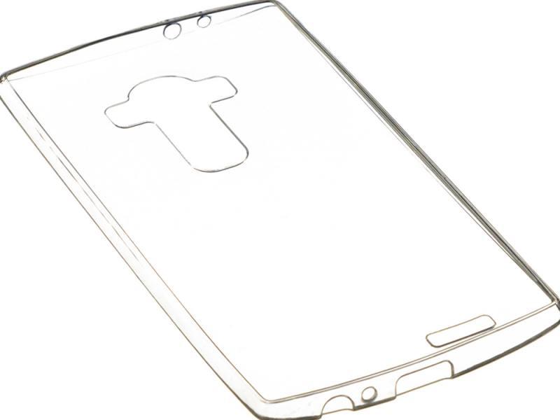 Чехол-накладка для LG G4 Stylus iBox Crystal клип-кейс, прозрачный силикон