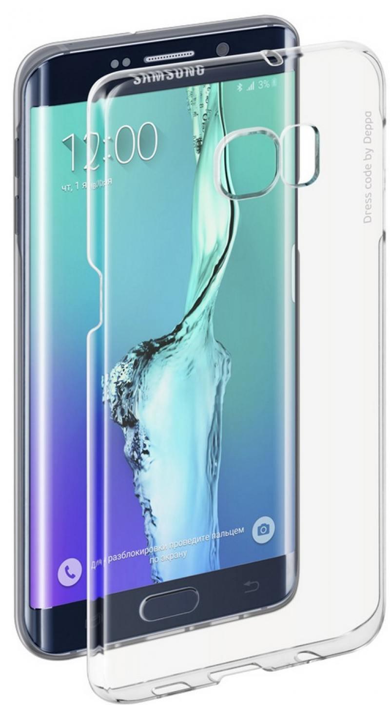 Чехол-накладка для Samsung Galaxy S6 edge+ Pure Case hard coating клип-кейс, пластик кейс для назначение ssamsung galaxy кейс для samsung galaxy с узором кейс на заднюю панель камуфляж тпу для s6 edge plus s6 edge s6 s5