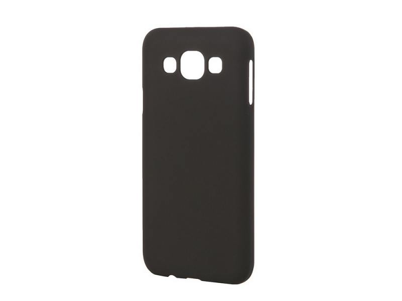 Чехол-накладка Pulsar CLIPCASE PC Soft-Touch для Samsung Galaxy E5 SM-E500F/DS (черная) РСС0014 pulsar clipcase tpu чехол для samsung galaxy j5 2016 white