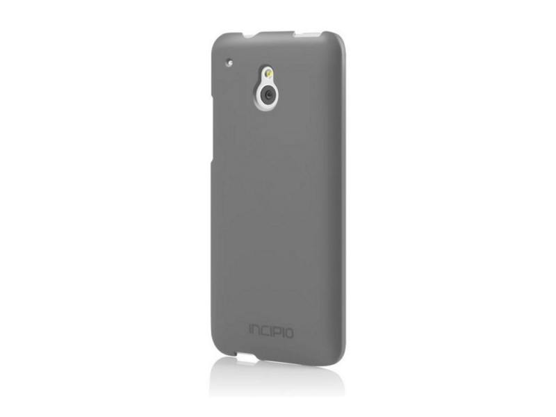 Чехол-накладка для HTC One mini Feather Incipio HT-374 Grey клип-кейс, пластик alcatel one touch 6039y idol 3 mini grey