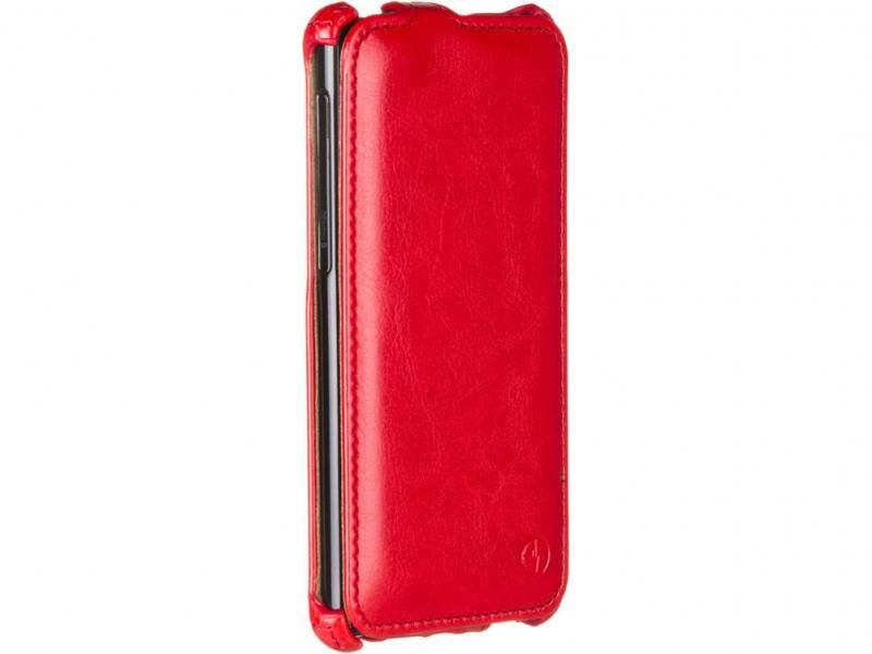 Чехол-флип PULSAR SHELLCASE для Sony Xperia M5/M5 Dual (красный)