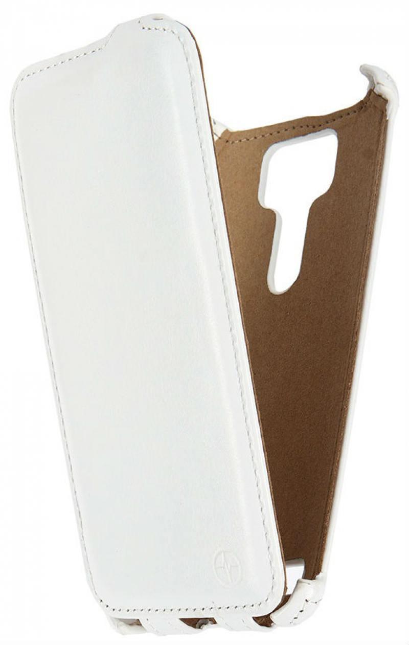 купить Чехол-флип PULSAR SHELLCASE для ASUS Zenfone Selfie (ZD551KL) белый РSC0819 недорого