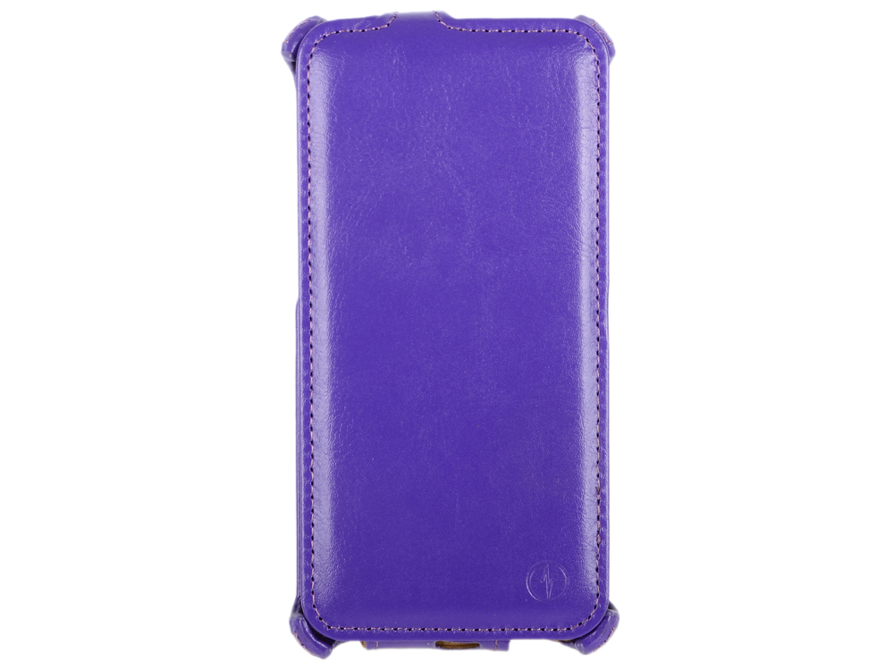Чехол-флип PULSAR SHELLCASE для Sony Xperia M5/M5 Dual (фиолетовый)