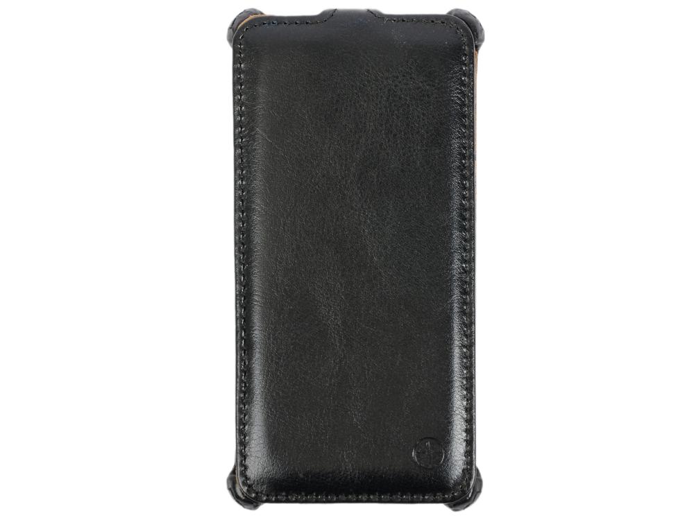Чехол-флип PULSAR SHELLCASE для Sony Xperia Z5 (черный) PSC0805 mooncase чехол for sony xperia c5 флип кожаный бумажник чехол карточка с kickstand дело чехол черный коричневый