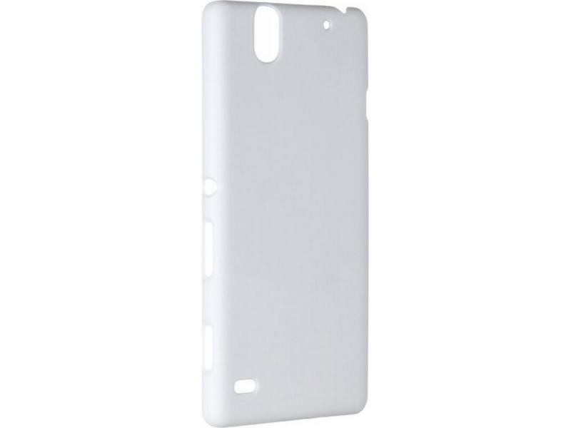 Чехол-накладка для Sony C4 Pulsar CLIPCASE PC White клип-кейс, пластик