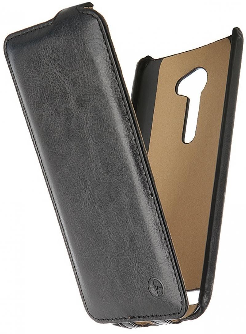 купить Чехол-флип PULSAR SHELLCASE для ASUS Zenfone 2 ZE500CL 5.0 inch (черный) недорого