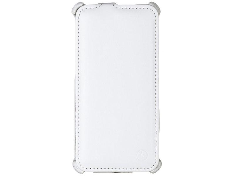 Чехол-книжка для Sony Xperia M5/M5 Dual PULSAR SHELLCASE White флип, искусственная кожа стоимость