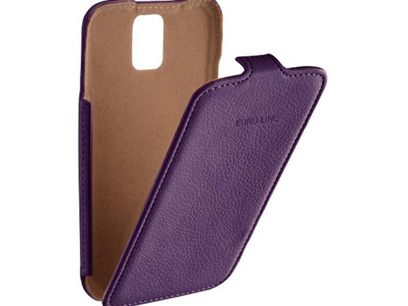 где купить Чехол-флип для Sony Xperia Z5 premium PULSAR SHELLCASE PSC0804 Purple флип, кожзаменитель дешево