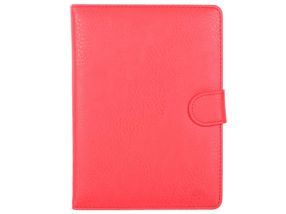 Чехол-книжка универсальный 8 RIVACASE 3014 Red флип, искусственная кожа