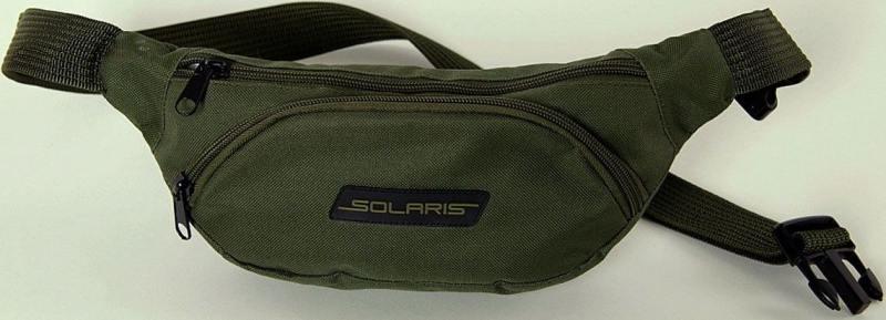 Сумка-пояс Универсальная Solaris S5401 ПВХ оливковый