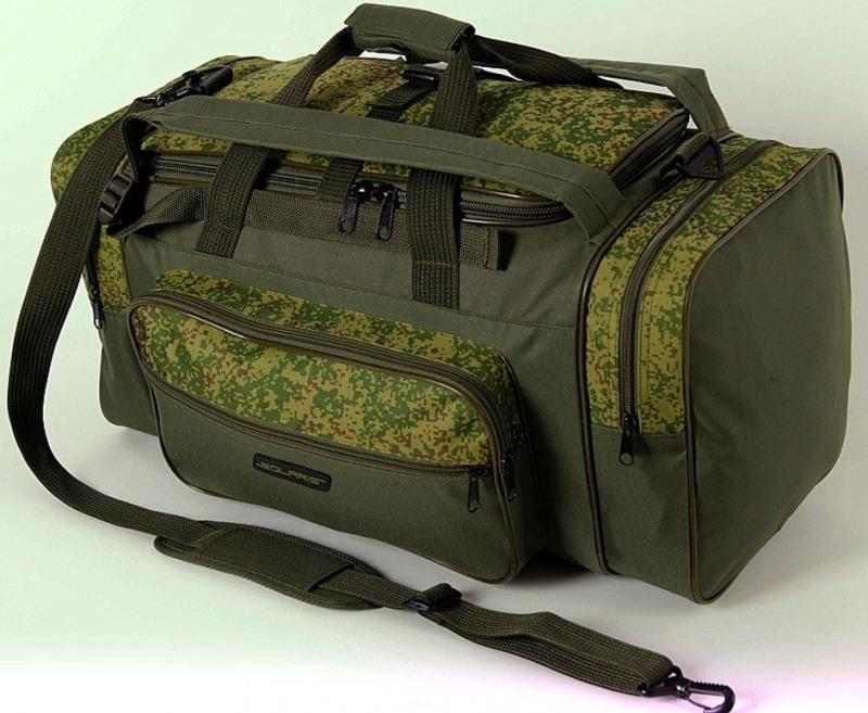 Сумка-рюкзак Универсальная Solaris S5202 52л ПВХ оливковый