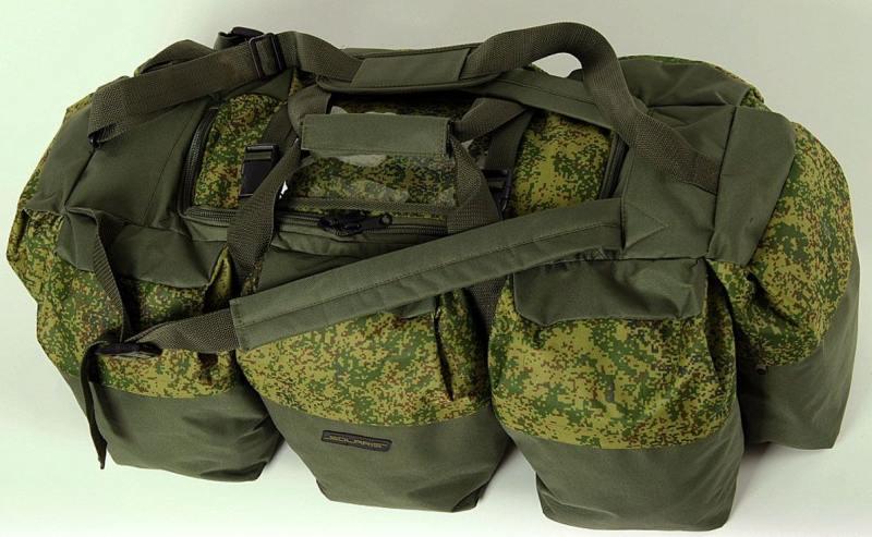 Сумка-рюкзак Универсальная Solaris S5205 экспедиционная 120л ПВХ оливковый