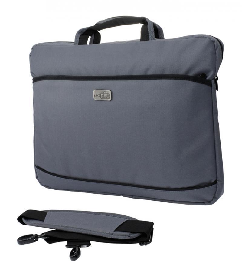 Cумка для ноутбука 17 PC Pet PCP-A1117GY нейлон серый сумка для ноутбука pc pet pcp a9015bk