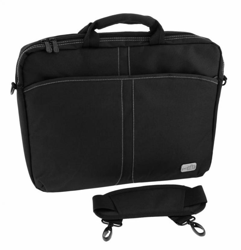 Cумка для ноутбука 17 PC Pet PCP-A1117BK нейлон черный сумка для ноутбука pc pet pcp a9015bk