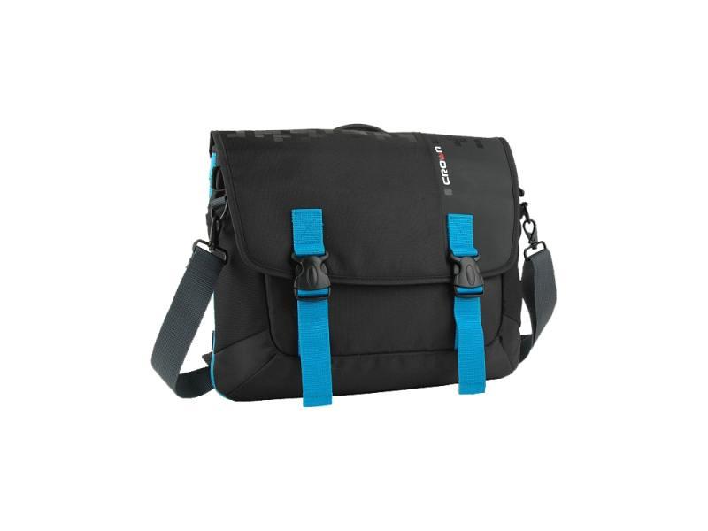 """Сумка для ноутбука 15.6"""" Crown CMCCH-3315BBU синтетика черно-синий"""