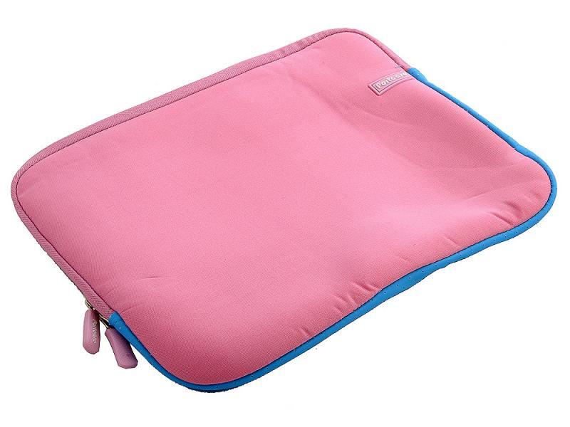 Чехол для ноутбука 12 PORTCASE KNP-12 PN розово-голубой чехол для ноутбука 12 printio блокнот ля шобы поделат