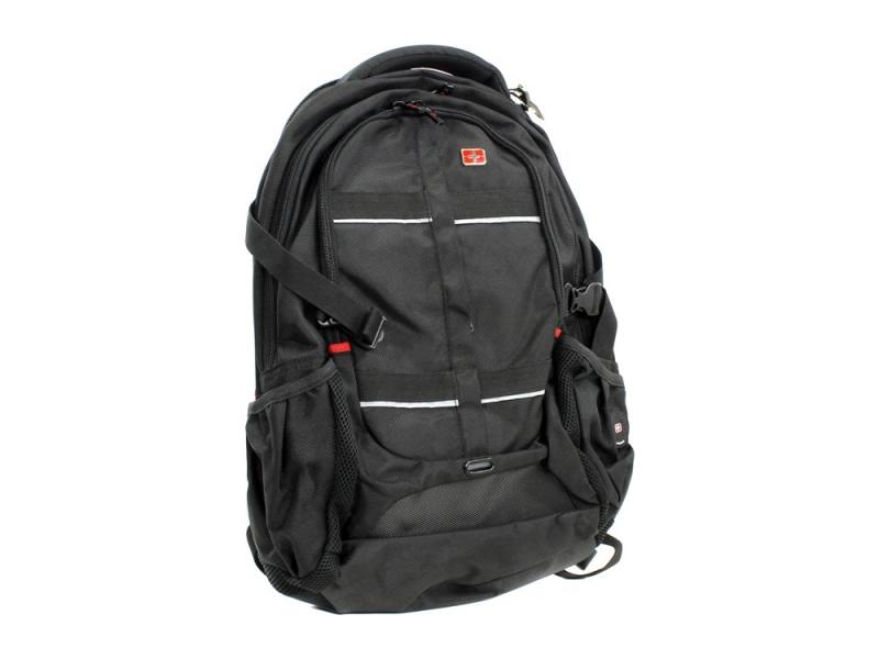 Рюкзак для ноутбука 15.6 Continent BP-302 BK нейлон/полиэстер черный 16 рюкзак для ноутбука continent bp 302 нейлоновый черный