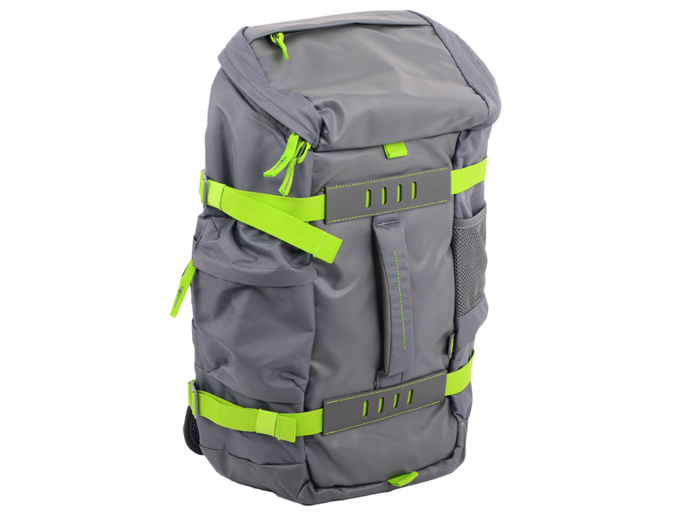 Рюкзак HP 15.6 Grey Odyssey Backpack (L8J89AA) рюкзак для ноутбука 15 6 hp odyssey black red x0r83aa