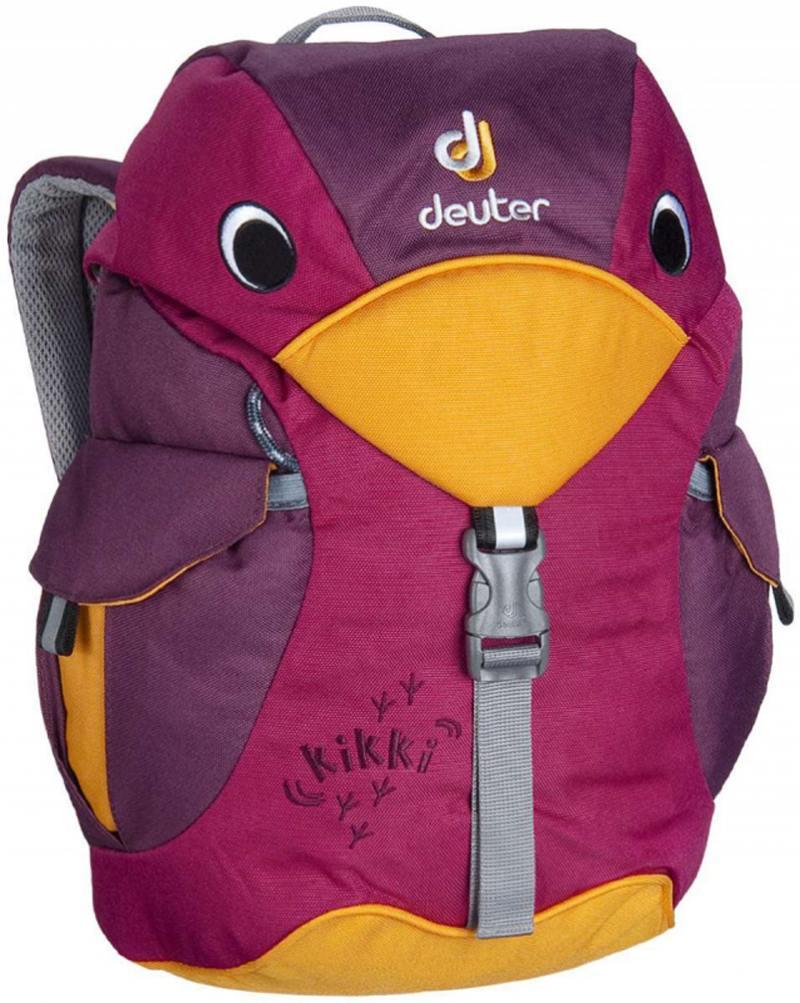 Детский рюкзак Deuter KIKKI ФИОЛЕТОВЫЙ рюкзак deuter deuter snowtour 26 темно серый 26л