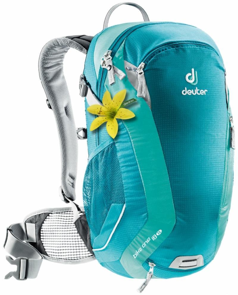 Велорюкзак Deuter Bike One 18 голубой/мята велорюкзак deuter 2015 aircomfort futura 24 sl papaya lava 34224 9503