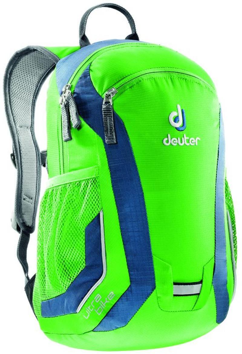 Велорюкзак Deuter Ultra bike зелёно-синий велорюкзак с отделением для ноутбука deuter giga bike 28 л 80444 3980 сине голубой
