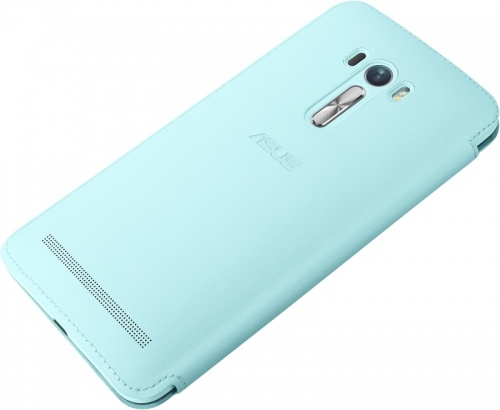 Чехол Asus для ZenFone Selfie ZD551KL голубой 90AC00X0-BCV004 ainy ac ab727 защитная пленка для asus zenfone selfie глянцевая