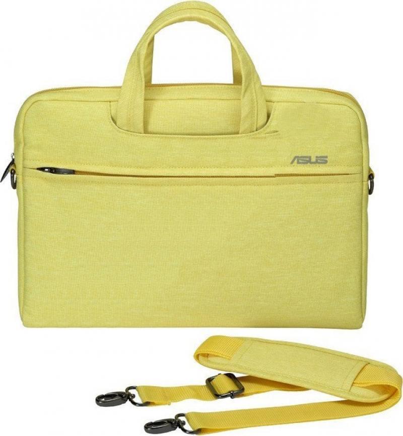 Сумка для ноутбука 12 ASUS EOSSHOULDERBAG/12INCH полиэстер желтый 90XB01D0-BBA020