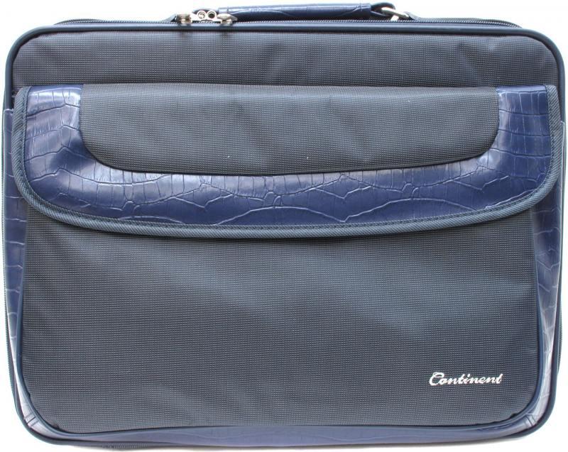 Сумка для ноутбука 15 Continent CC-05 Navy нейлон синяя