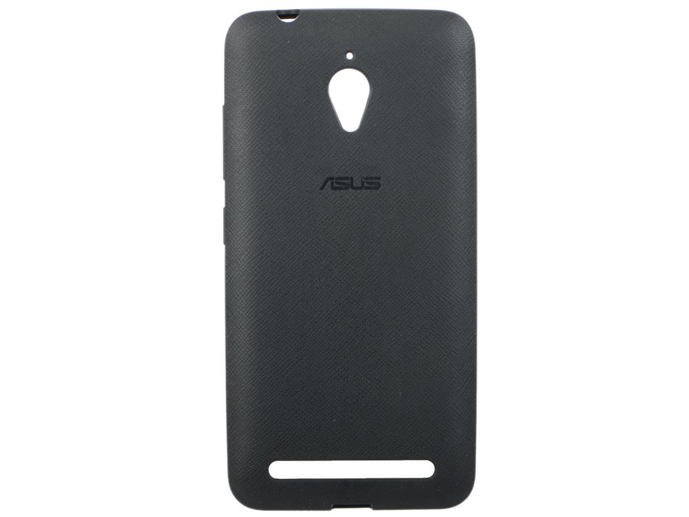 Задняя крышка Asus для ZenFone GO ZC500TG PF-01 черный 90XB00RA-BSL3P0 чехол для смартфона asus для zenfone go zc500tg pf 01 оранжевый 90xb00ra bsl3r0 90xb00ra bsl3r0