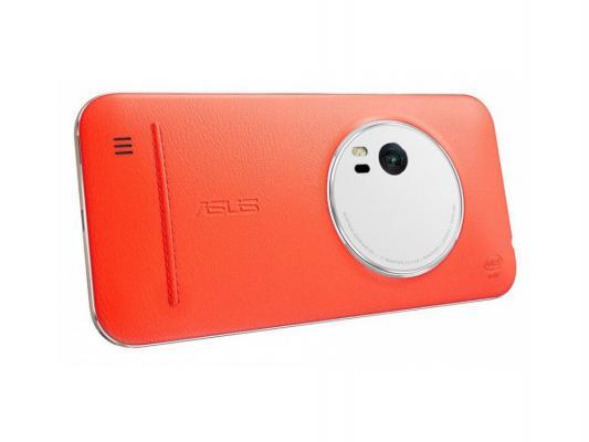Чехол Asus для Asus ZenFone ZX551ML Leather Case оранжевый 90AC0100-BBC005 битоков арт блок z 551