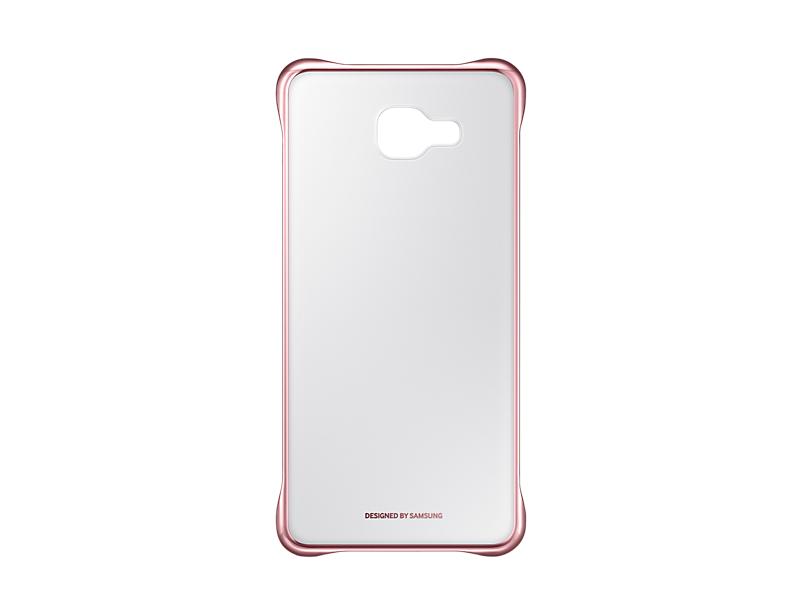 Чехол Samsung EF-QA710CZEGRU для Samsung Galaxy A7 Clear Cover A710 розовый чехол для samsung galaxy a7 2016 samsung clear cover ef qa710cbegru black