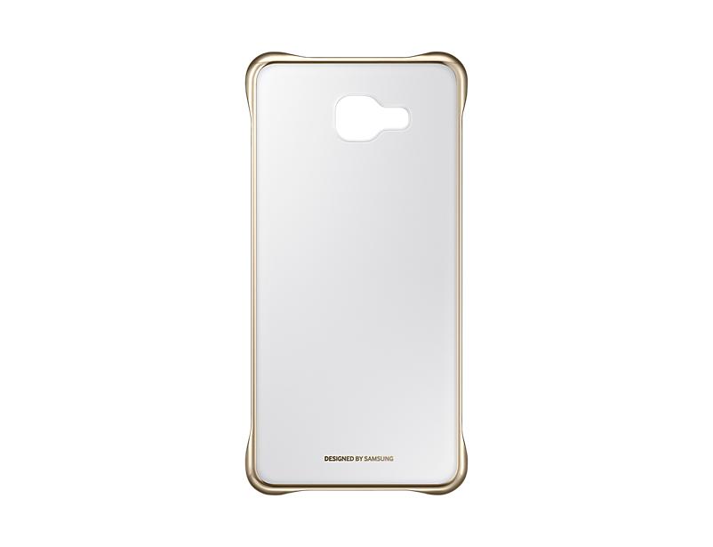 Чехол Samsung EF-QA710CFEGRU для Samsung Galaxy A7 Clear Cover A710 золотистый