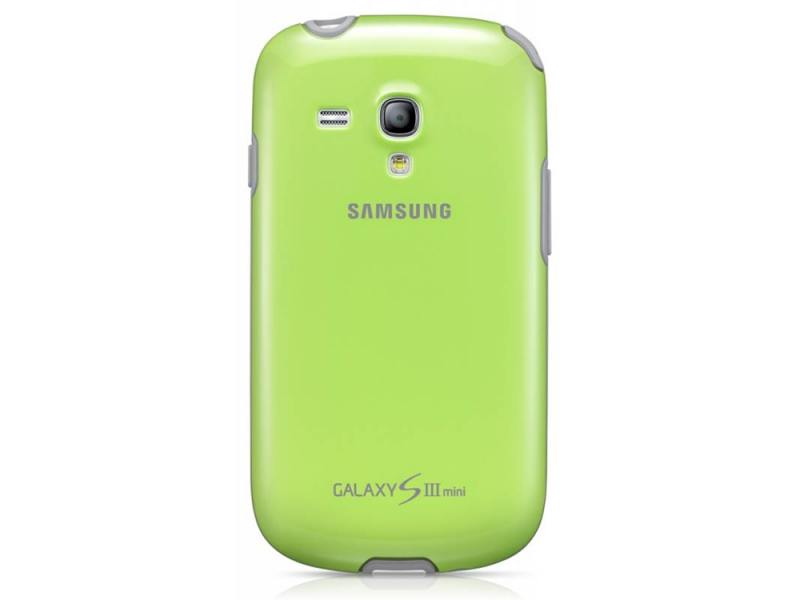 Чехол Samsung для GT-I8190 Galaxy S 3 Mini зеленый EFC-1M7BGE cs 8190