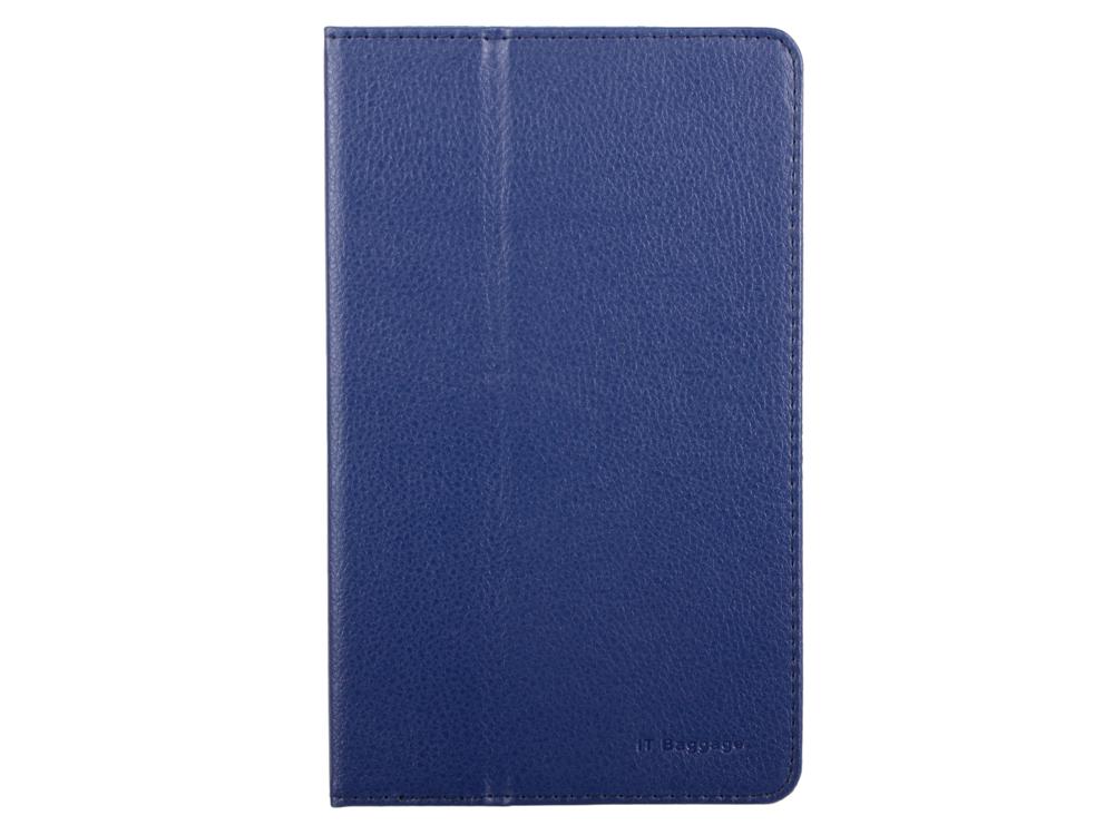 Чехол IT BAGGAGE для планшета LENOVO IdeaTab 3 8 TB3-850M искус. кожа синий ITLN3A802-4 it baggage чехол для lenovo tab 3 8 0 tb3 850m black