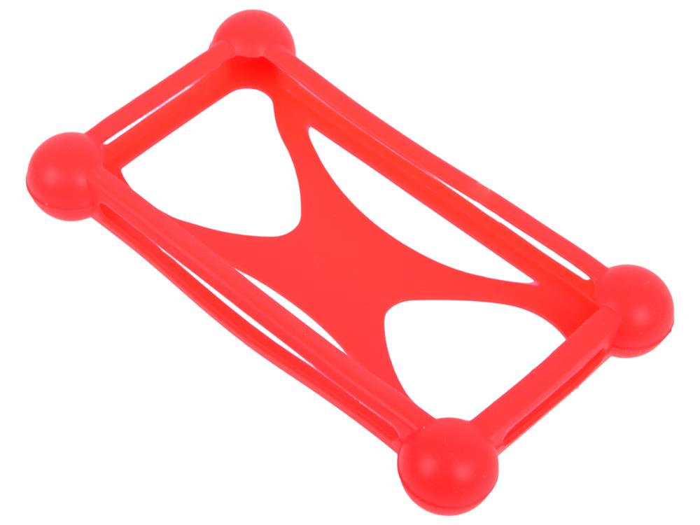 Бампер силиконовый IQ Format универсальный Красный