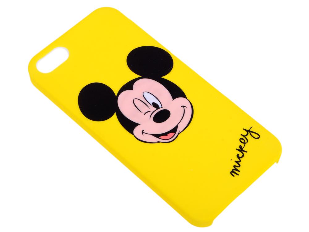 Крышка задняя Дисней/Марвел для iPhone 5 Микки, жёлтый