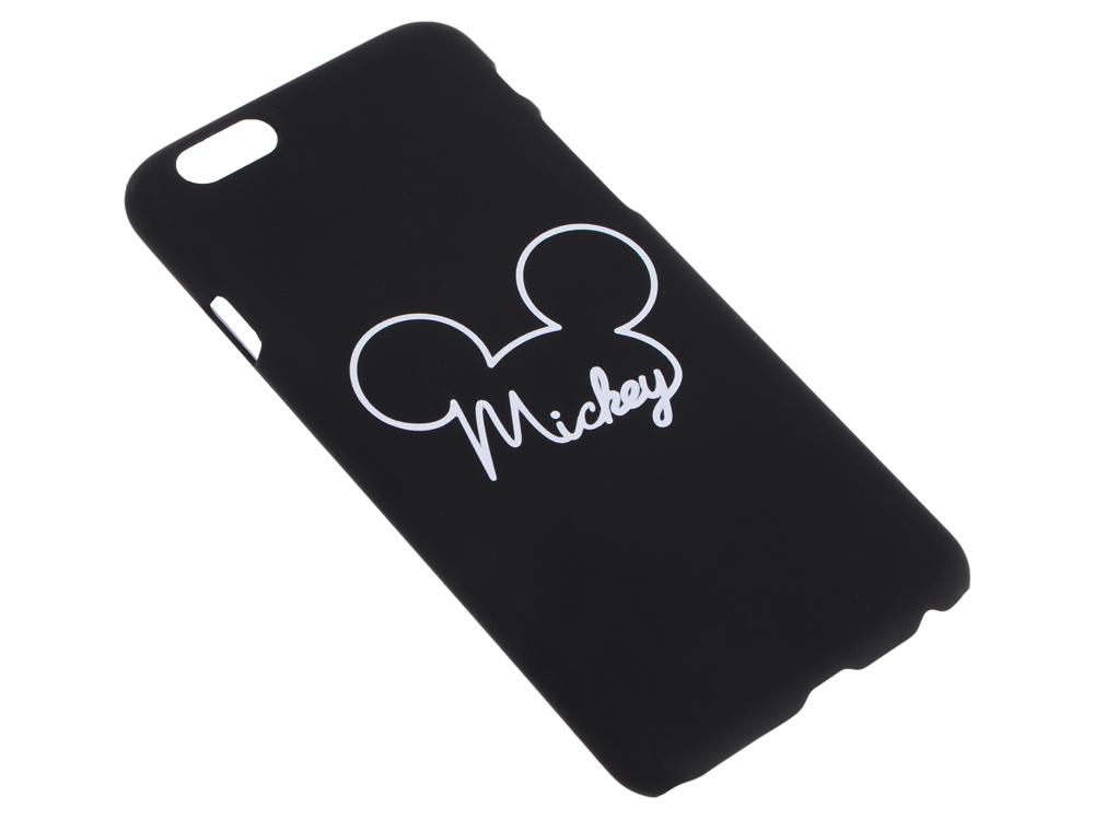 все цены на  Крышка задняя Дисней/Марвел для iPhone 6 Микки, чёрный  онлайн