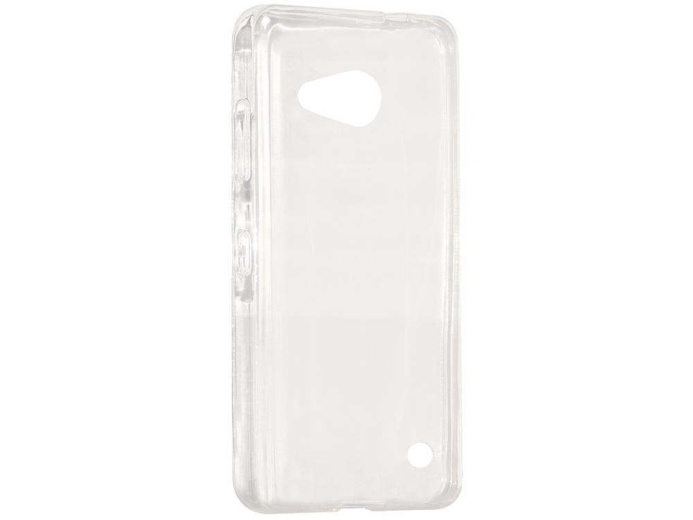 Крышка задняя для Lumia 550 Силикон Прозрачный