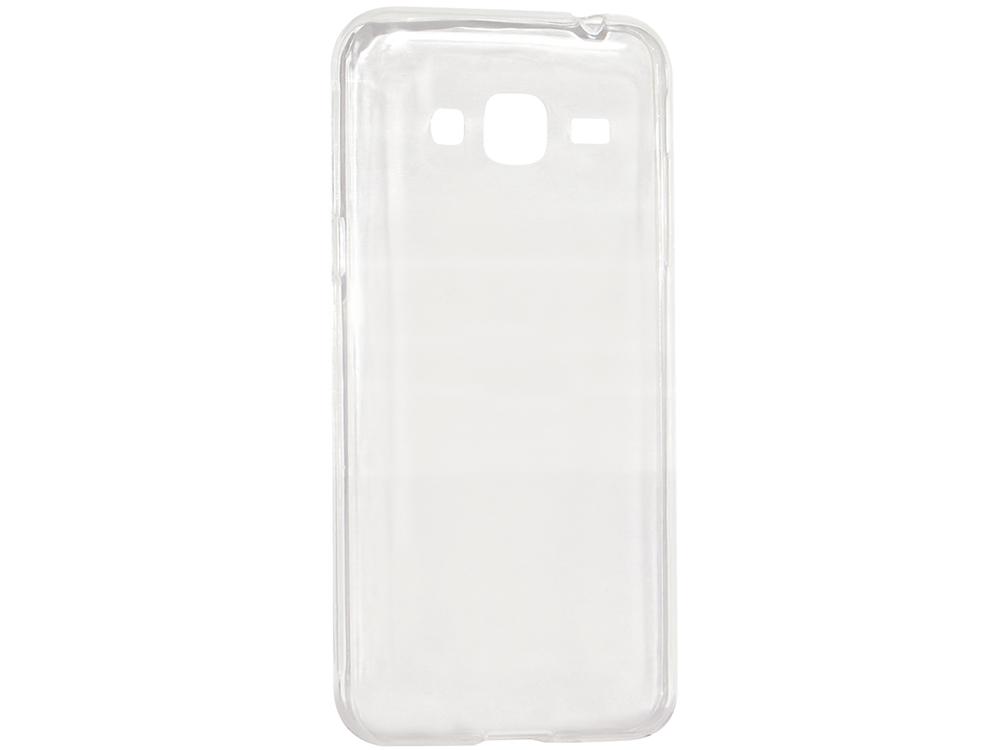 Крышка задняя для Samsung Galaxy J2 Силикон Прозрачный цена
