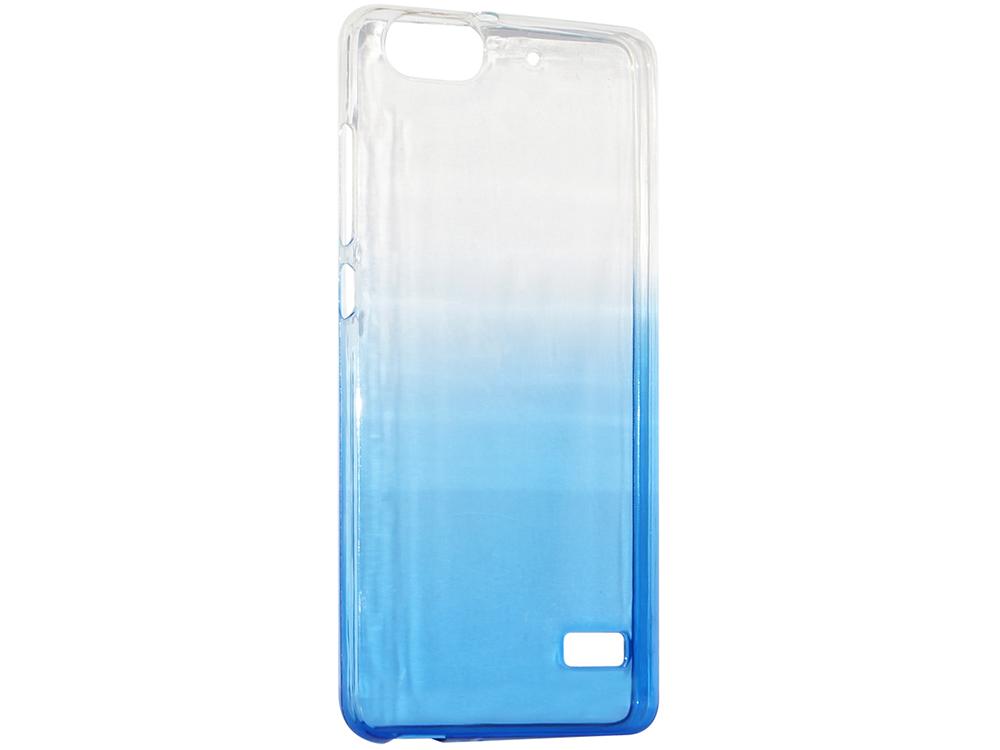 Крышка задняя для Huawei 4C Силикон Синий