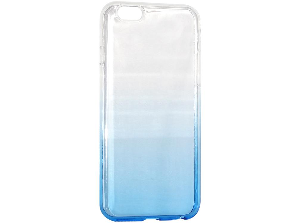 Крышка задняя для Iphone6/6S Силикон Синий