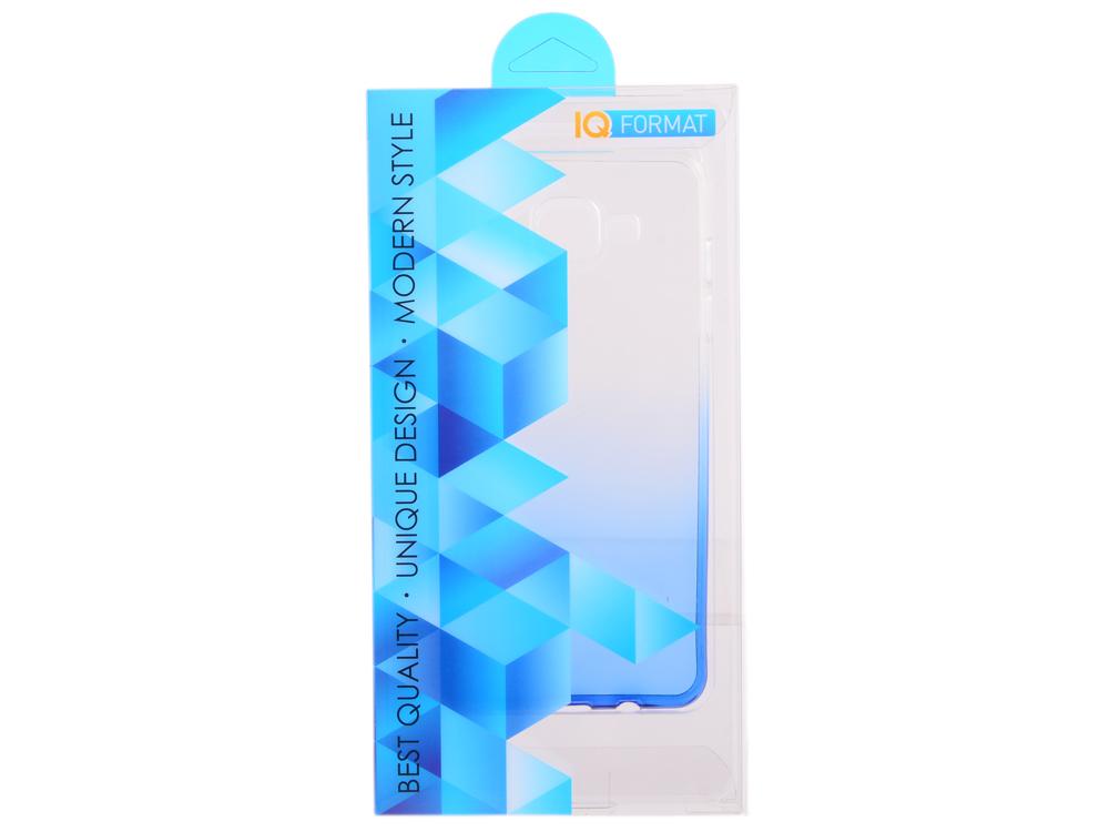 Крышка задняя для Samsung A5 2016/A510 Силикон Синий iq format крышка задняя для nokia 950 силикон