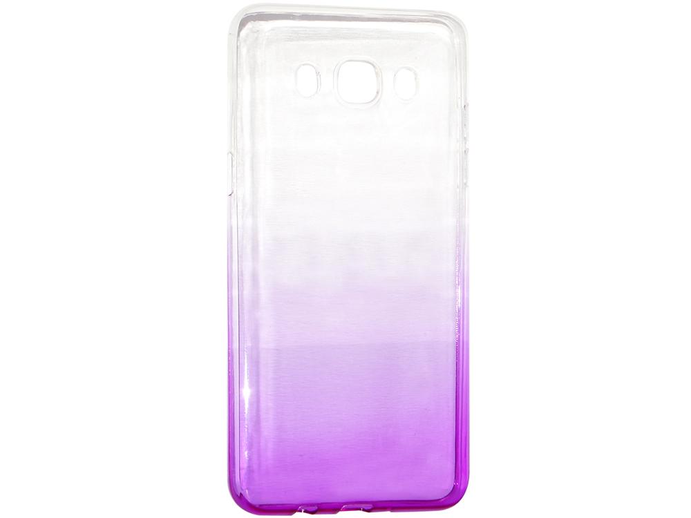 Крышка задняя для Samsung Galaxy J5 (2016) Силикон Фиолетовый