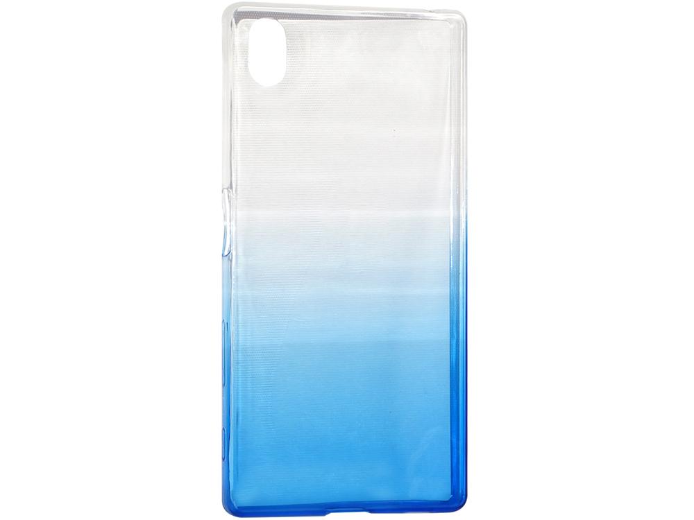 Крышка задняя для Sony Xperia Z5 Силикон Синий